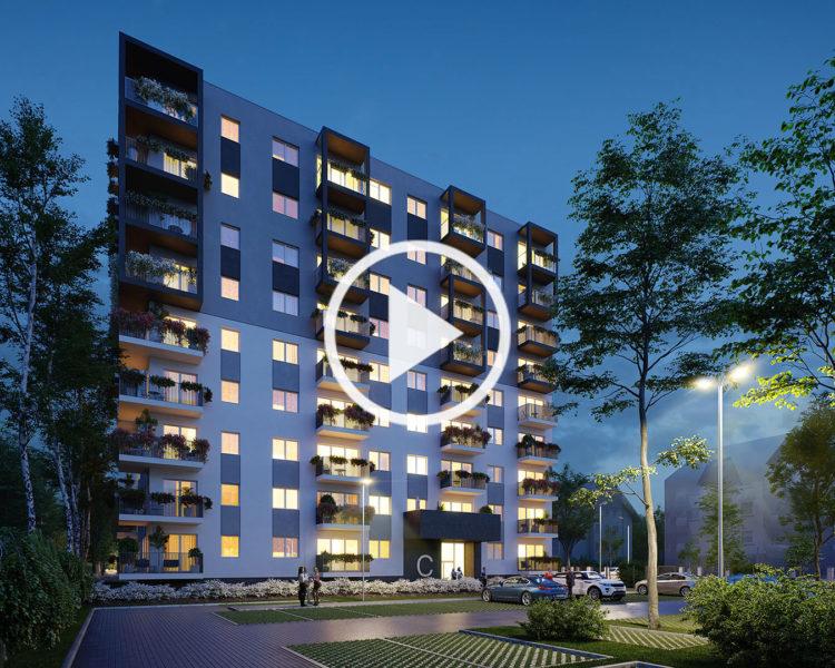 Atrium Radogoszcz - Architectural Animation