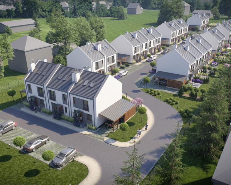 Domy nad Wilgą - Invest House SA