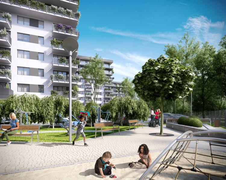 Narutowicza Residence - Tree Development Group